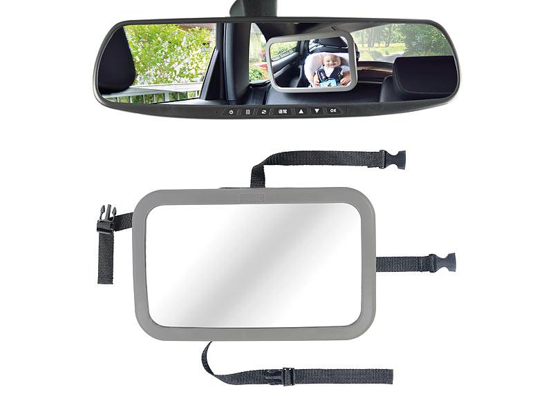 lescars babyspiegel auto baby spiegel f rs auto r ckspiegel. Black Bedroom Furniture Sets. Home Design Ideas