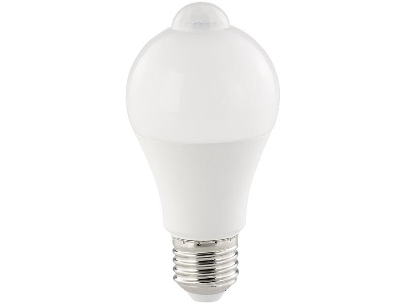 luminea sensorbirne led lampe pir sensor 12 w e27. Black Bedroom Furniture Sets. Home Design Ideas