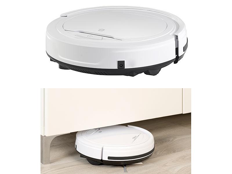Sichler Staubroboter: Staubsauger-Roboter mit Bürst- und
