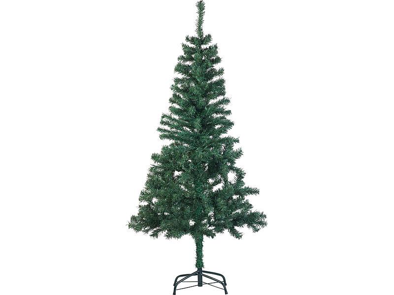 Künstlicher Weihnachtsbaum 150 Cm.Infactory Dekos Künstlicher Weihnachtsbaum Mit 310 Spitzen Und