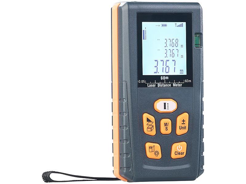 Digitaler Entfernungsmesser : Agt professional distanzmesser laser entfernungsmesser mit lcd