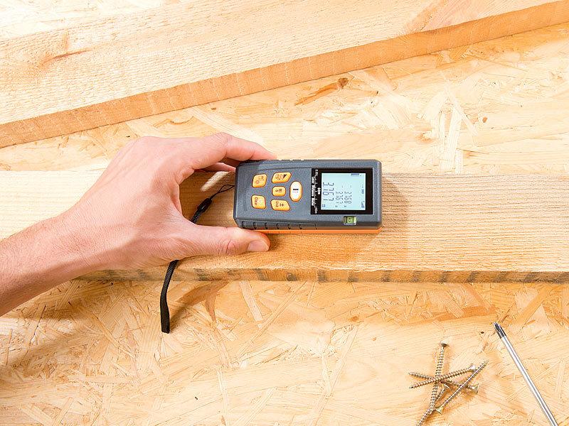 Agt professional distanzmesser laser entfernungsmesser mit lcd