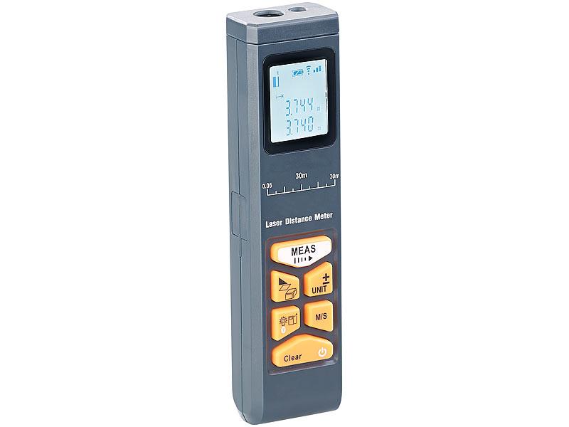 Agt distanzmesser: laser entfernungsmesser mit lcd & bluetooth