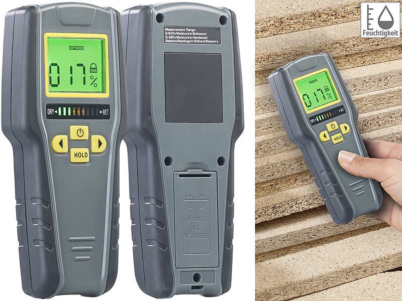 Digitaler Entfernungsmesser Xxl : Agt feuchtigkeitsmesser digitaler in feuchtigkeits detektor mit
