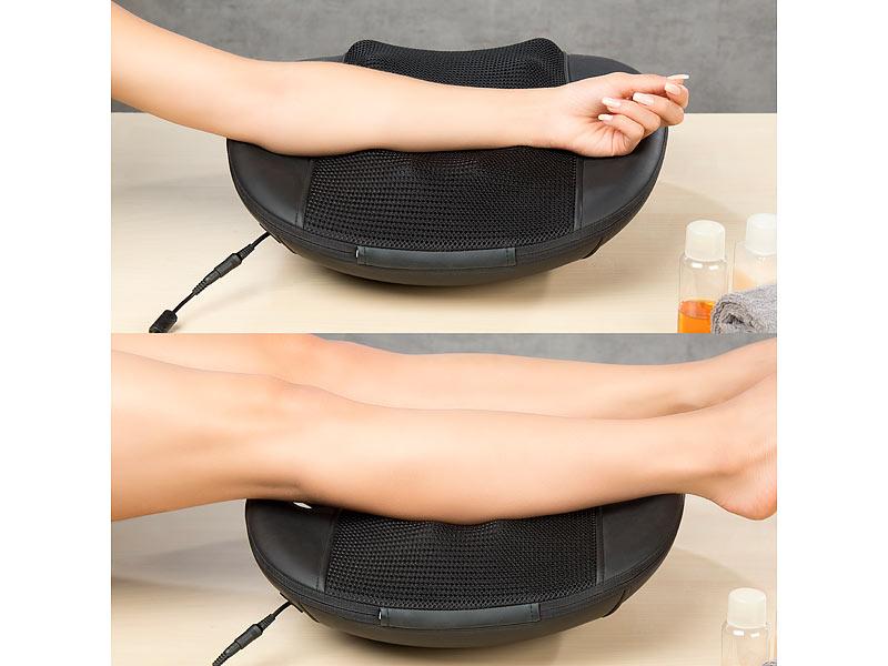 newgen medicals massagekissen shiatsu r cken massageger t. Black Bedroom Furniture Sets. Home Design Ideas