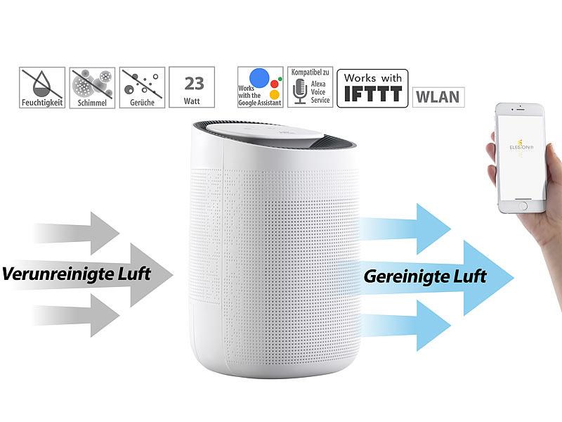 Sichler 2in1 Luftreiniger Entfeuchter Fur Amazon Alexa Google