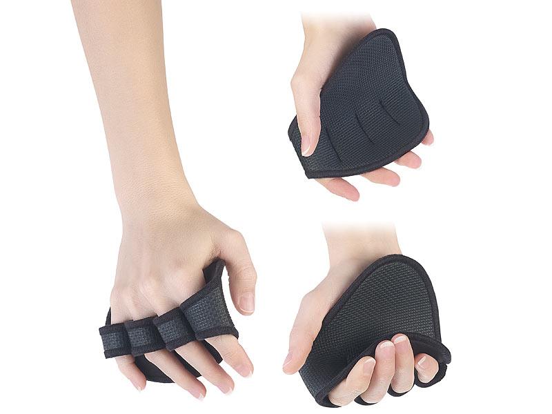 Griffpolster Profi aus Neopren Handschutz Fitness Bodybuilding Handschuhe NEU