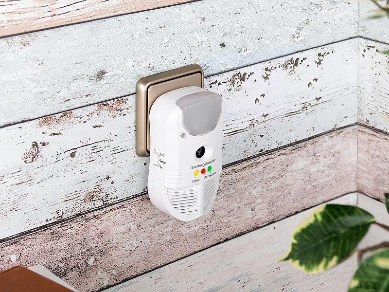 exbuster m useschreck 3in1 ultraschall sch dlingsvertreiber pir nachtlicht luftreiniger. Black Bedroom Furniture Sets. Home Design Ideas