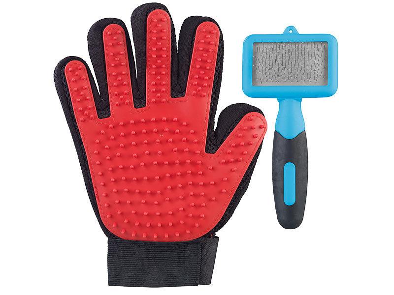 handschuh katze bürsten