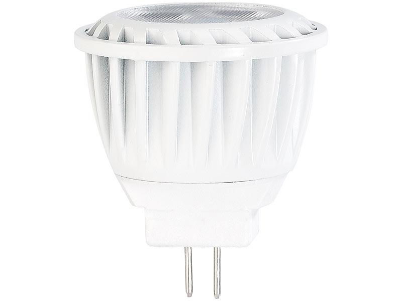 Luminea GU4 MR11 LED-Lampen: LED-Spot, GU4, MR11, 3,5 W, 12 V ...