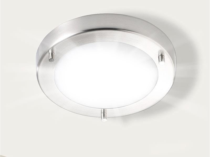 luminea deckenleuchte ip44 mit fassung g9 max 40 w 19 cm. Black Bedroom Furniture Sets. Home Design Ideas