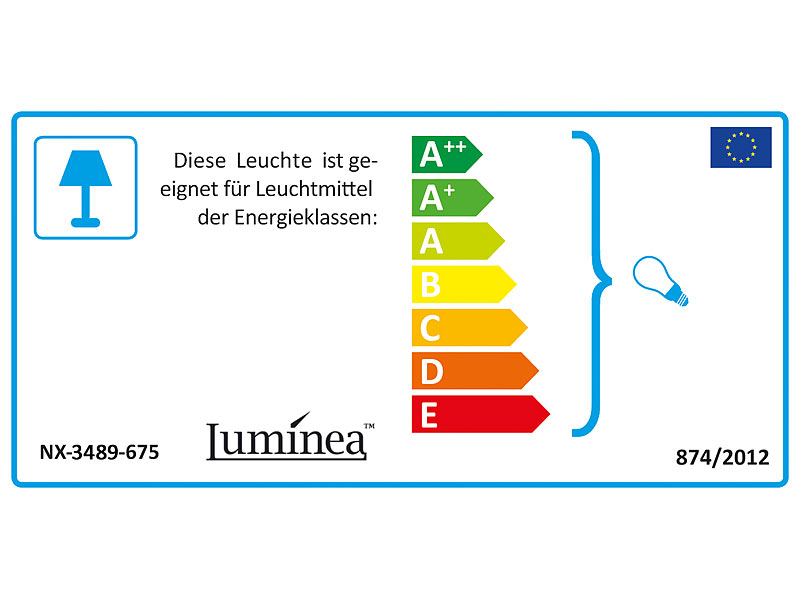 Luminea Deckenlampe E27 Deckenleuchte Ip44 Mit Fassung E27 Max
