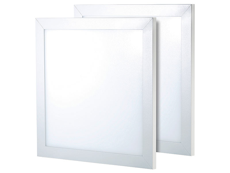 Lunartec LED Wandleuchten: LED Panel 30 x 30 cm, 30W, 3000K