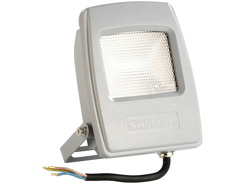 kryolights wetterfester led fluter 20 watt lumen ip65 tageslichtwei. Black Bedroom Furniture Sets. Home Design Ideas