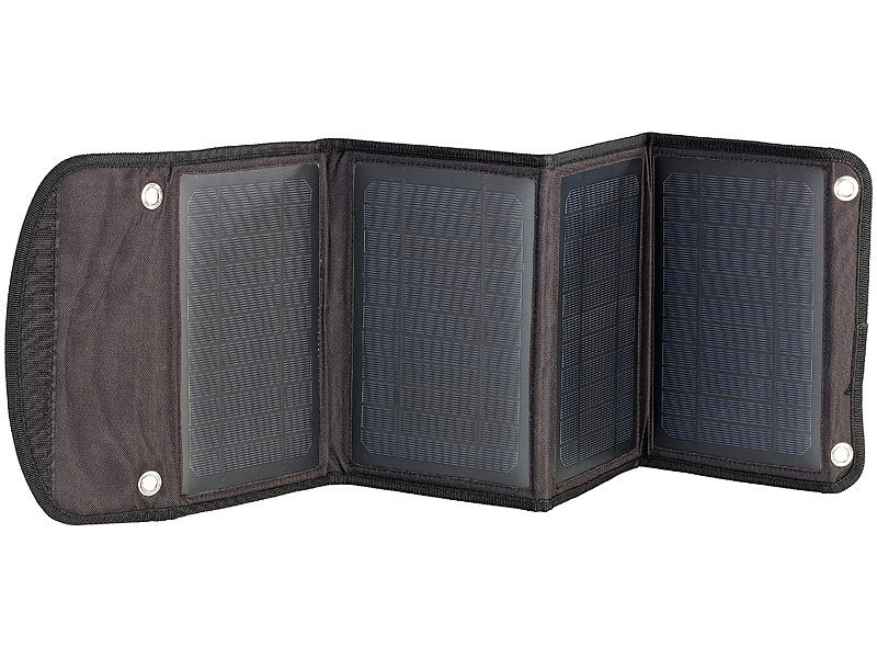 revolt mobile solarzellen faltbares ladeger t solarpanel mit 2x usb port 14 w solar ladeger te. Black Bedroom Furniture Sets. Home Design Ideas