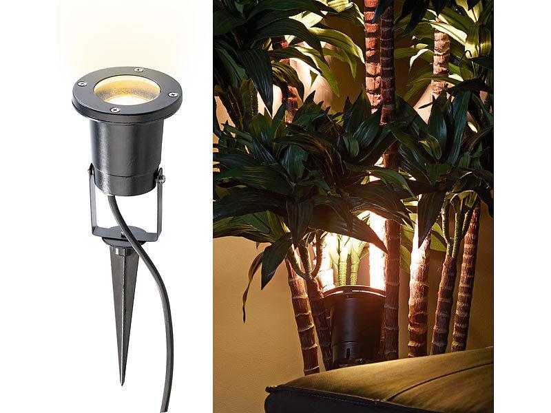 2 x Pflanzenleuchte Sensor Pflanzenstrahler Pflanzenlampe Pflanzen Beleuchtung