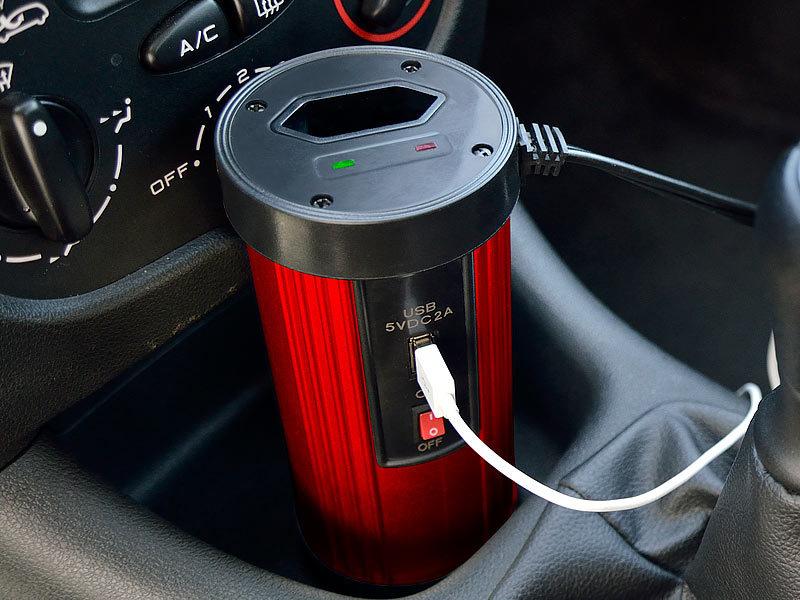 Spannungswandler Auto Kühlschrank : Revolt spannungswechsler kfz spannungswandler w v ac
