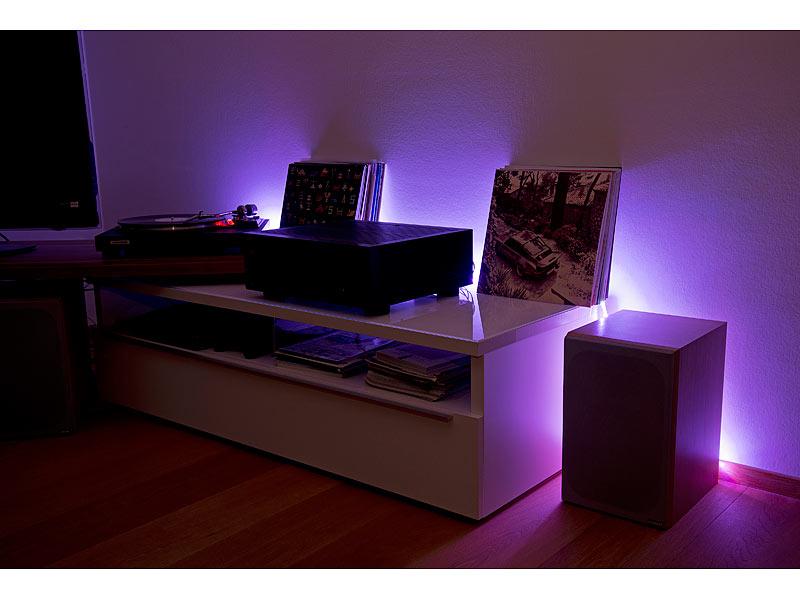 lunartec led streifen lx 500n 5 m rgbw innenbereich. Black Bedroom Furniture Sets. Home Design Ideas