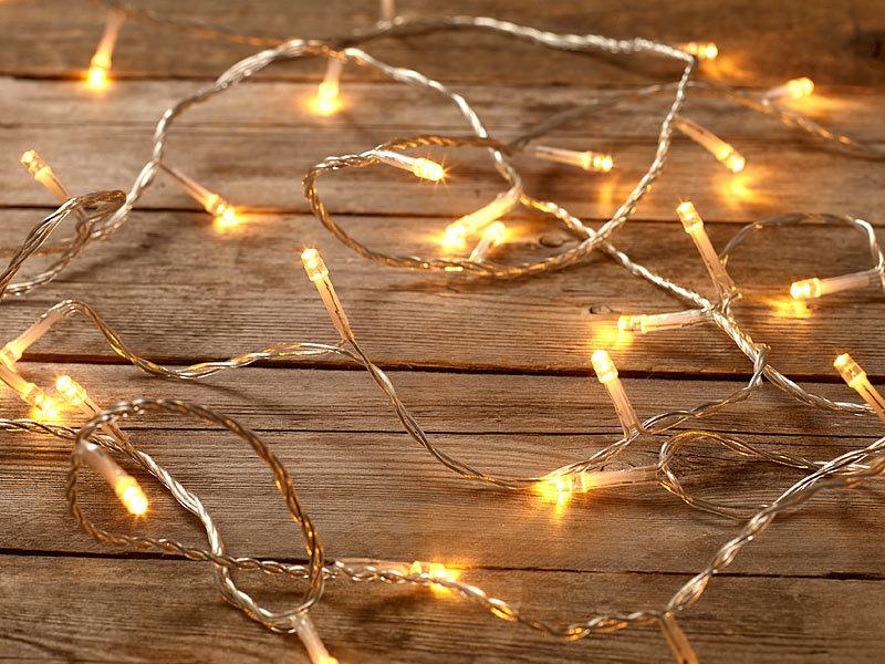 Lichterkette Mit Bildern : Led lichterkette mit leds warmweiß m innenbereich