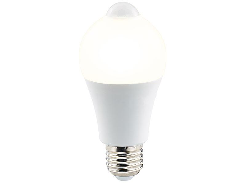 Luminea Lampen Bewegungsmelder Led Lampe Pir Sensor 6 5 Watt E27