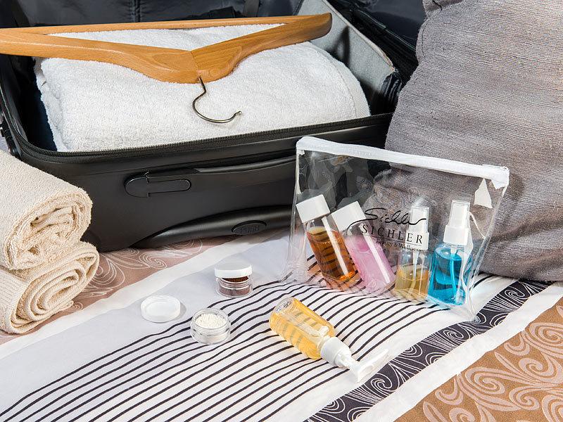 sichler beauty reiseset reise rei verschluss tasche mit 7. Black Bedroom Furniture Sets. Home Design Ideas