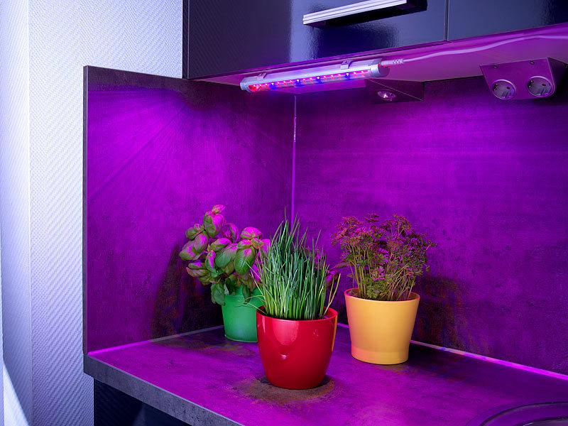lunartec led pflanzenleuchte led pflanzenunterbauleuchte. Black Bedroom Furniture Sets. Home Design Ideas