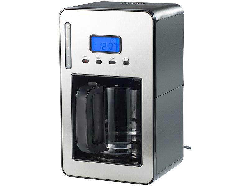 rosenstein s hne programmierbare kaffeemaschine kf 316 refurbished. Black Bedroom Furniture Sets. Home Design Ideas
