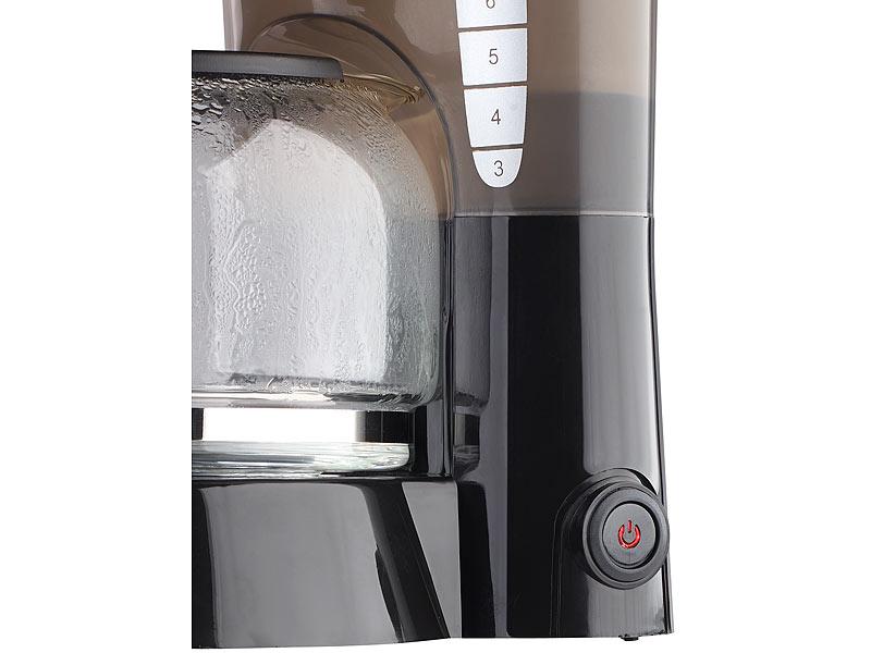 pearl kaffeemaschine kf 115 mit mehrweg filter 680 w f r 10 tassen. Black Bedroom Furniture Sets. Home Design Ideas
