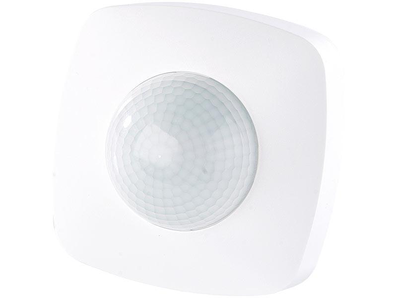 revolt automatischer lichtschalter mit pir pr senz sensor. Black Bedroom Furniture Sets. Home Design Ideas