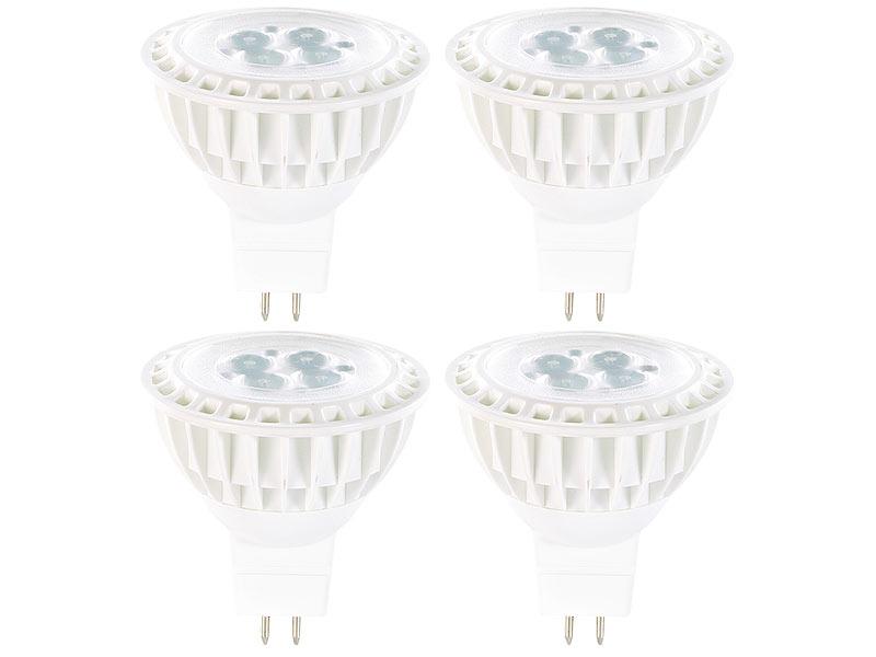 Led Beleuchtung Spots | Luminea Gu5 3 Led Beleuchtung High Power Led Spot Gu5 3 Warmweiss