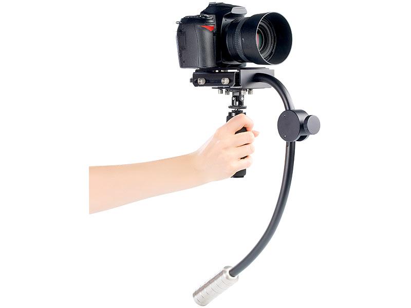 Somikon schwebe kamerastativ profi steadycam versandrückläufer