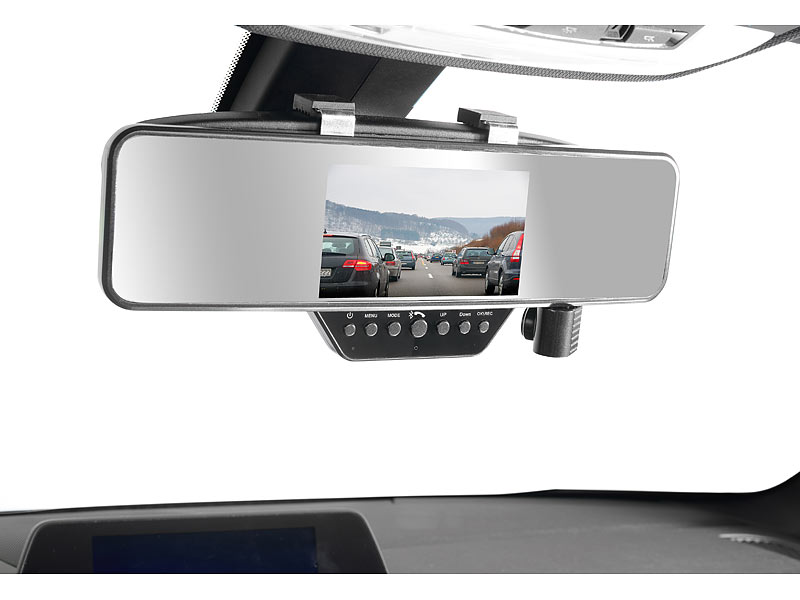 navgear dashcam innenspiegel hd r ckspiegel dashcam