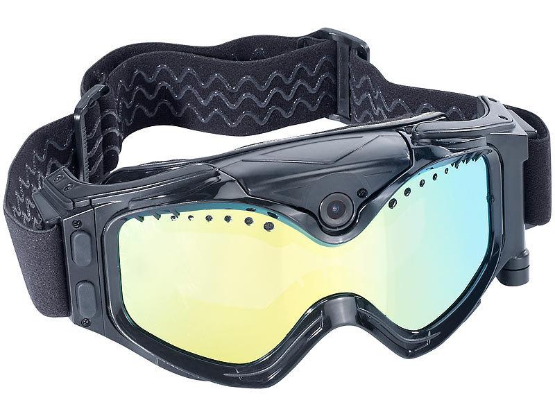 somikon skibrille mit kamera premium skibrille mit integrierter hd action cam skibrillen. Black Bedroom Furniture Sets. Home Design Ideas
