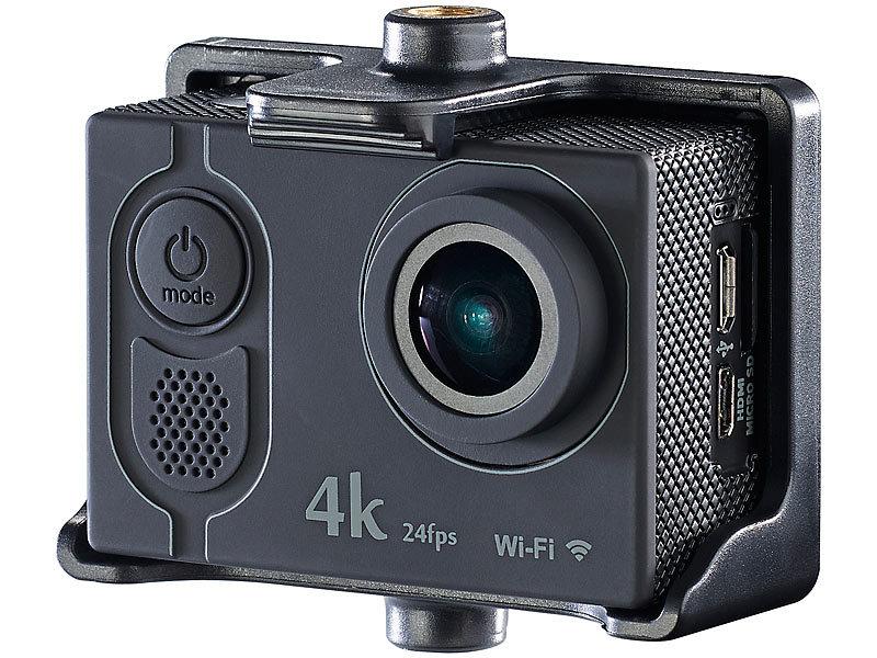 somikon action kamera 4k 4k action cam mit uhd video bei. Black Bedroom Furniture Sets. Home Design Ideas