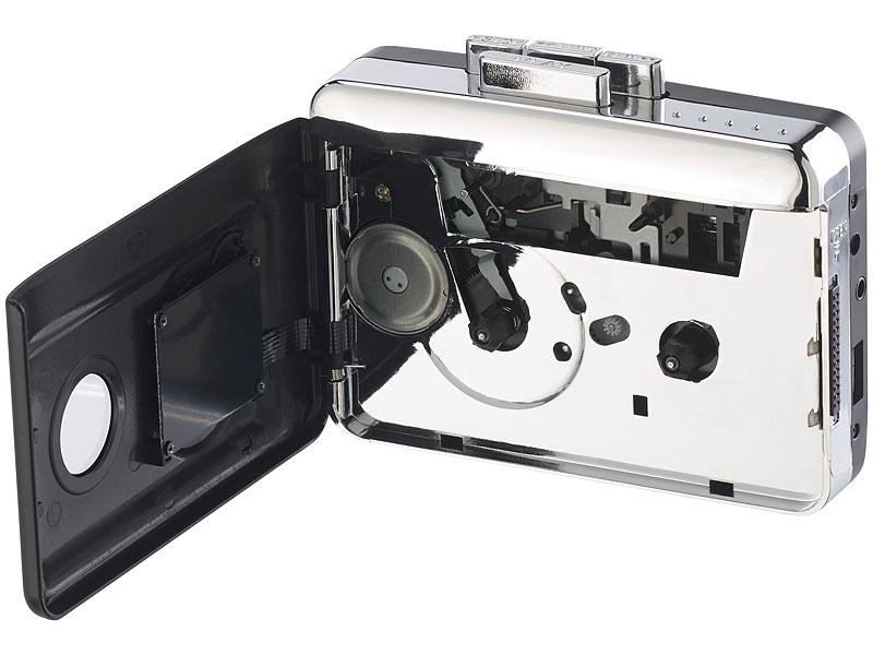 auvisio 2in1 kassetten player zum digitalisieren abspielen. Black Bedroom Furniture Sets. Home Design Ideas