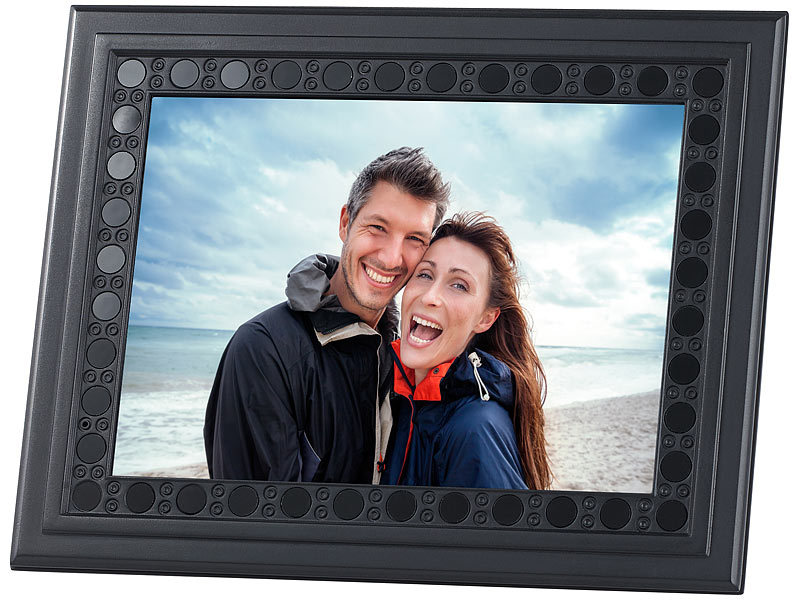 OctaCam Überwachungssystems: Bilderrahmen mit HD-Überwachungskamera ...