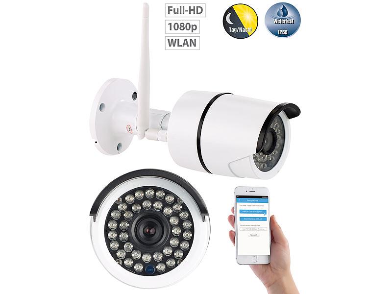 7links wlan kamera outdoor wetterfeste wlan ip kamera mit. Black Bedroom Furniture Sets. Home Design Ideas