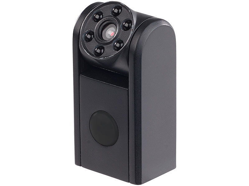 überwachungskamera mini : Somikon spionagekamera mini hd Überwachungskamera ir nachtsicht