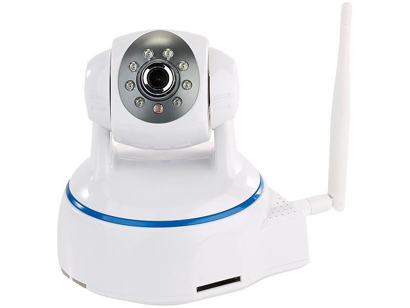 7links webcam dreh schwenkbare indoor ip kamera full hd wlan sd aufnahme app wlan cam. Black Bedroom Furniture Sets. Home Design Ideas