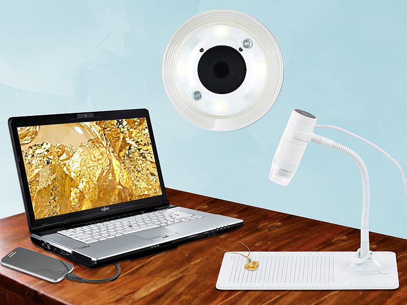 somikon digitales mikroskop mit hd kamera und st nder 2. Black Bedroom Furniture Sets. Home Design Ideas
