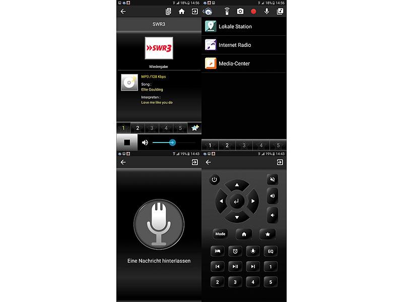 VR-Radio Steckdosenradio: Steckdosen-Internetradio IRS-300 mit WLAN ...
