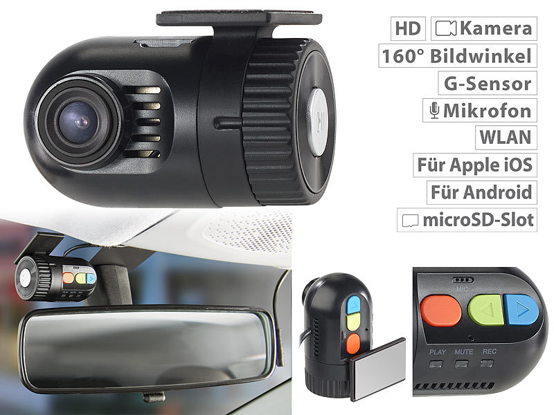 navgear dashcam ohne kabel mini hd dashcam mdv. Black Bedroom Furniture Sets. Home Design Ideas
