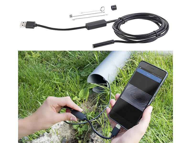 Somikon endoskop digitalkameras usb hd endoskop kamera für pc und