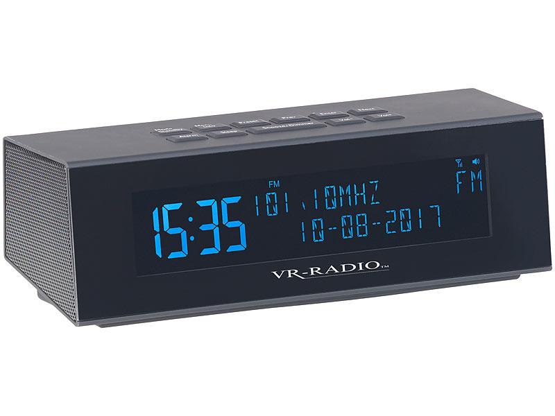 vr radio weckradio digitales dab fm stereo radio mit. Black Bedroom Furniture Sets. Home Design Ideas