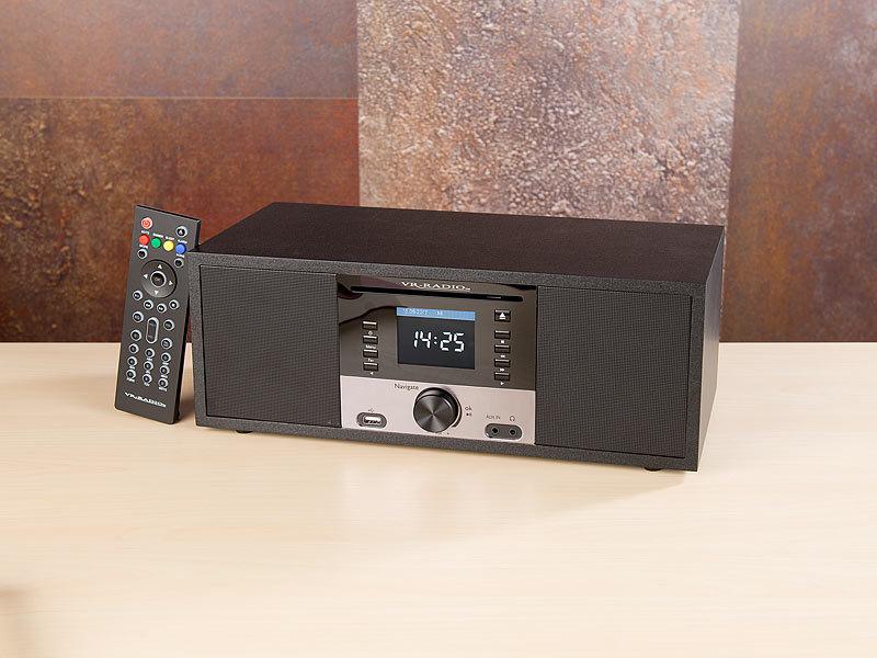vr radio dab radio mit cd player stereo internetradio m. Black Bedroom Furniture Sets. Home Design Ideas