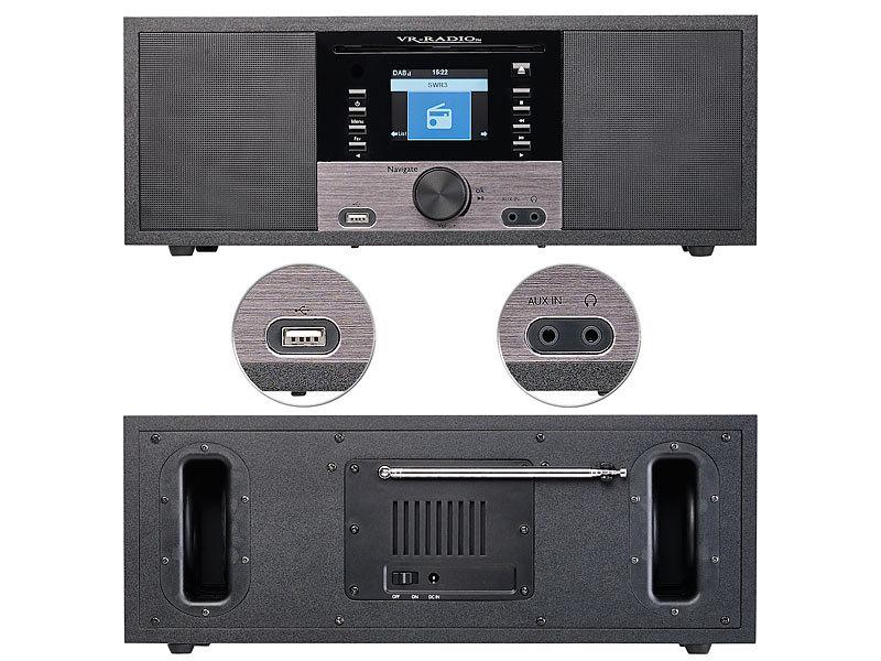 VR-Radio HiFi Anlage: Stereo-Internetradio M. CD-Player