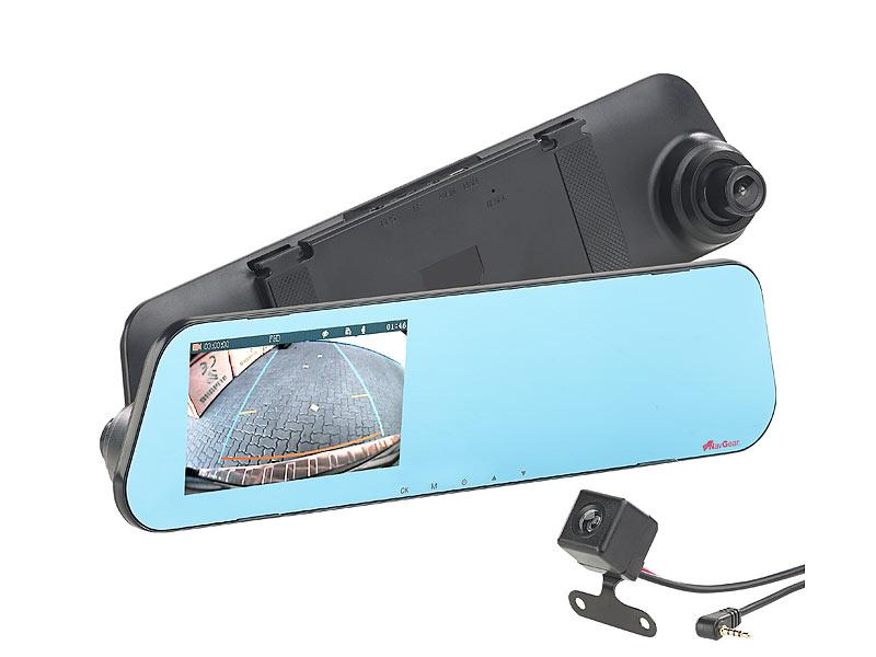 navgear hd r ckspiegel dashcam mit r ckfahrkamera und 10 9. Black Bedroom Furniture Sets. Home Design Ideas