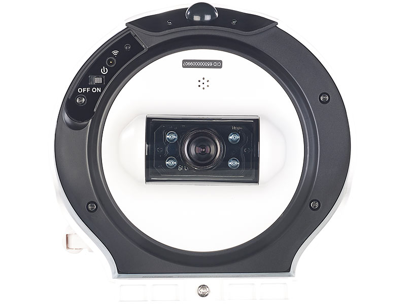 visortech solar berwachungskamera hd ip kamera mit akku solar panel bewegungssensor. Black Bedroom Furniture Sets. Home Design Ideas