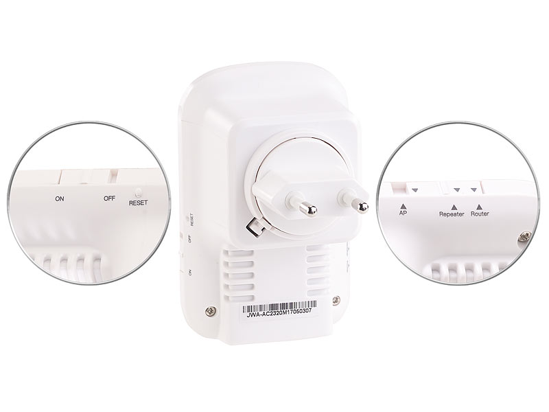 7links Wifi Booster Dualband Wlan Repeater Access Point Router