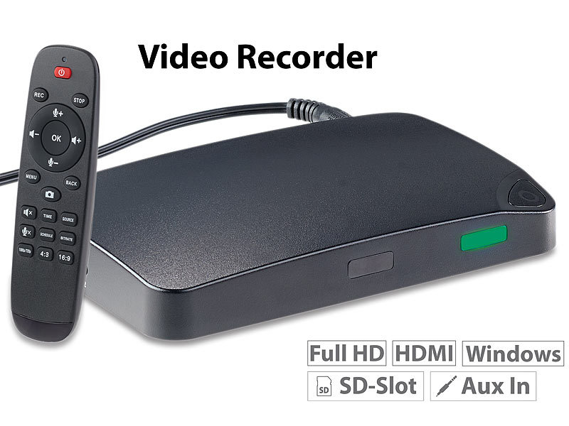 "HDMI-Video-Rekorder ""Game Capture V3"", Full HD, USB-/microSD-Aufnahme"
